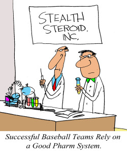 PHARM TEAM - SUCCESSFUL BASEBALL TEAMS RELY ON A GOOD PHARM SYSTEM 1000