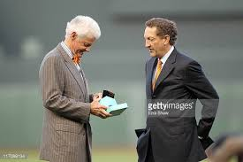 Former Giants co-owner BILL NEWCOMB who found himself out of a job for not getting along with Larry Baer